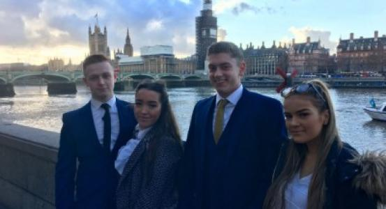 Public Services students visit Houses of Parliament