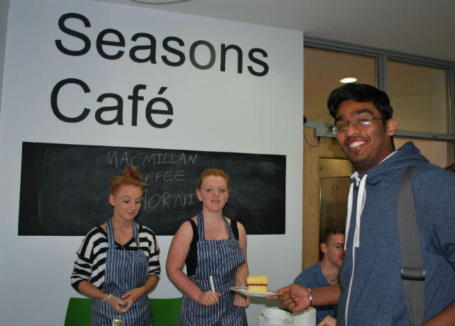 Seasons Cafe to launch year with charity soup kitchen to mark World Food Day