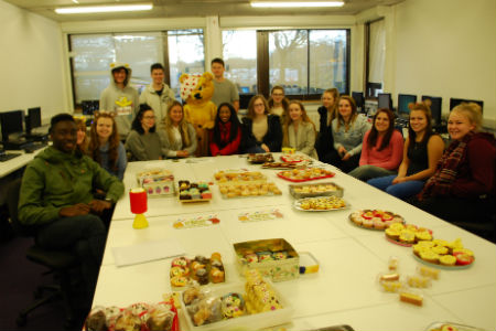 Health and Social Care students hold cake sale for Children in Need