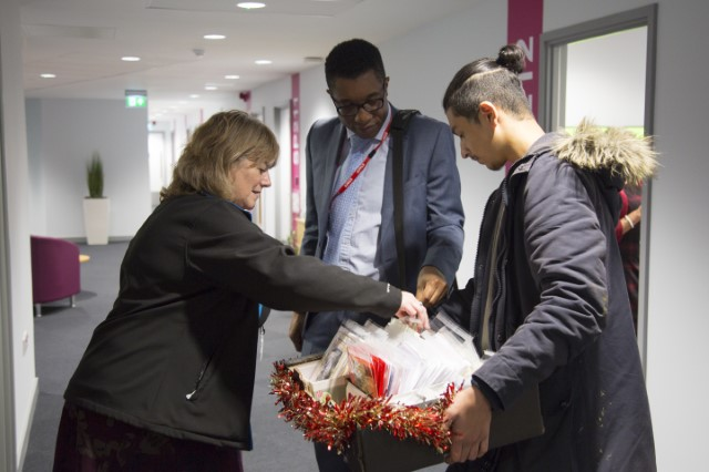 Students' festive fundraising for The Children's Trust