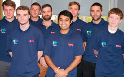 Combat Systems Engineering apprentices start their course at Nescot