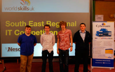 Computing students win first and second prizes at WorldSkills UK competition