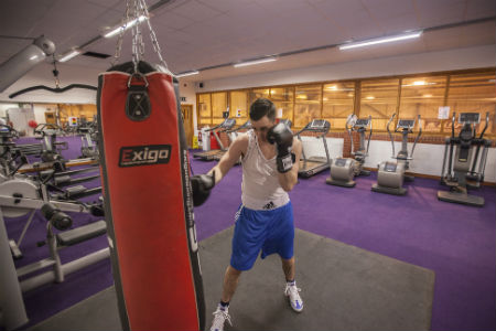 Nescot staff member to fight in charity boxing match