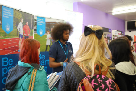 Higher Education fair held at Nescot