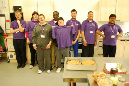 Nescot Catering students hold travelling cafe in Surrey churches