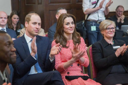Nescot student meets Duke and Duchess of Cambridge