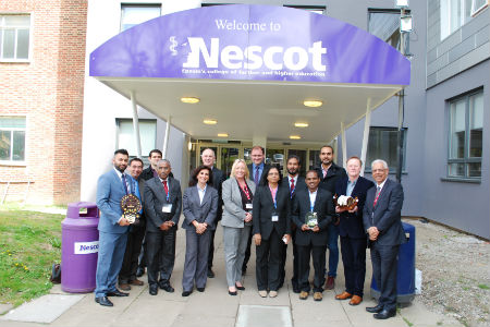 Team from India visit Nescot as part of government project
