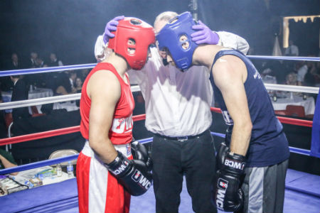 Nescot Performing Arts teacher in first-ever boxing match for charity