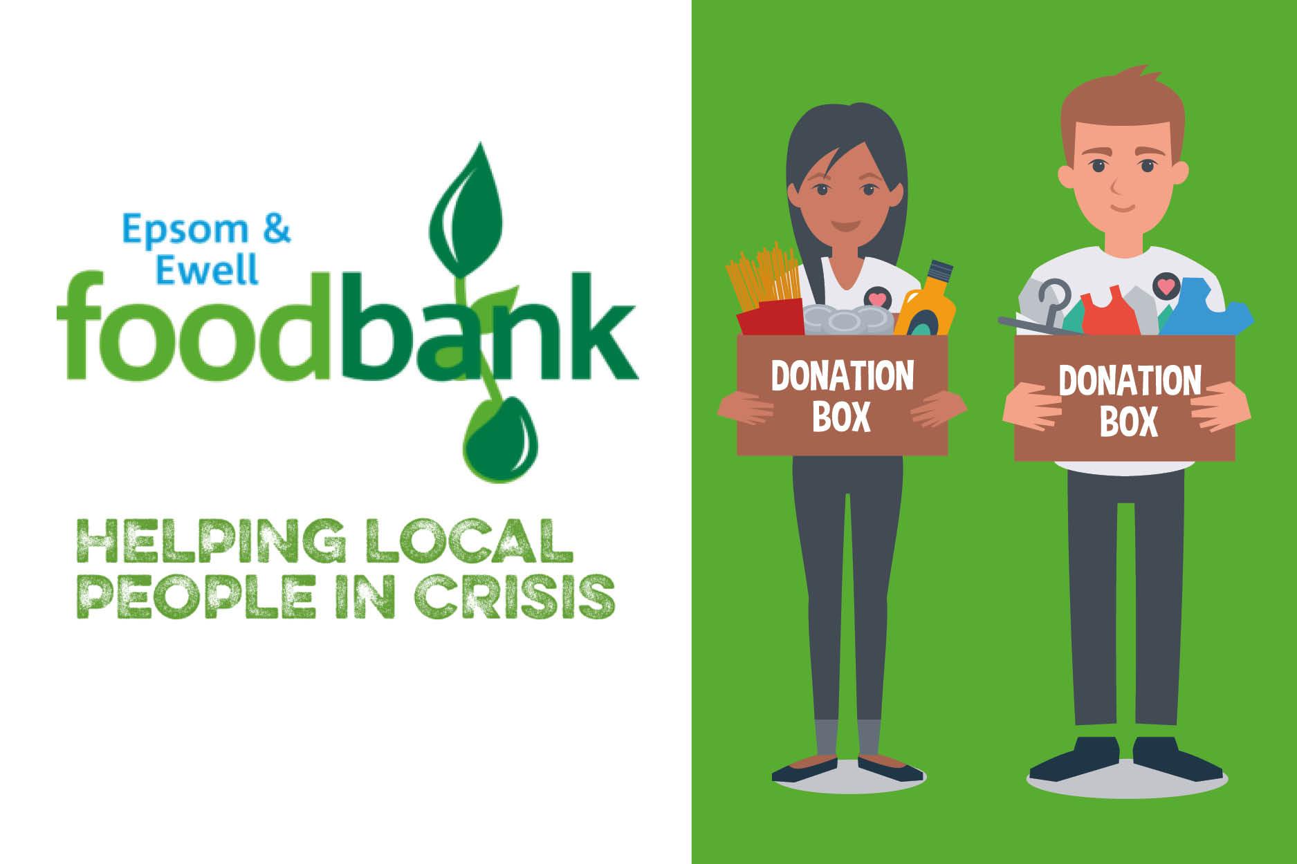 Christmas Appeal For Epsom And Ewell Foodbank Nescot College Ewell Epsom Surrey Uk