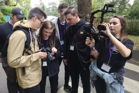 Media students make films to help children's charity