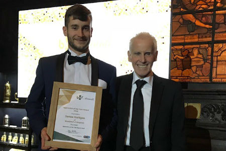 Carpentry and Joinery student shortlisted in national award
