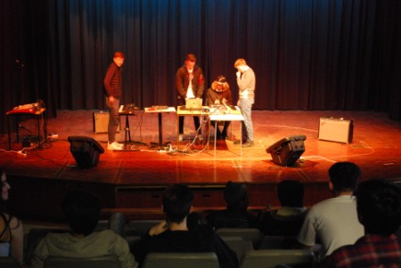 Music Technology students perform live