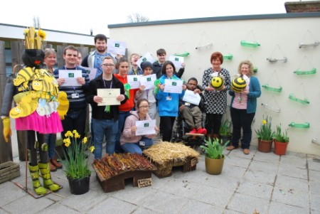 Nescot students win prize at countryside competition