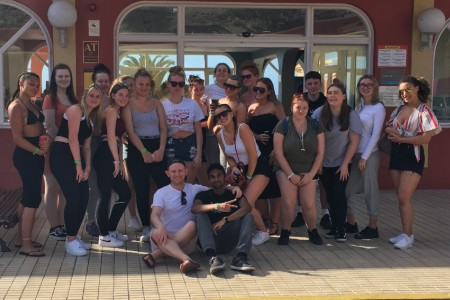 Travel and Tourism students spend week in Tenerife