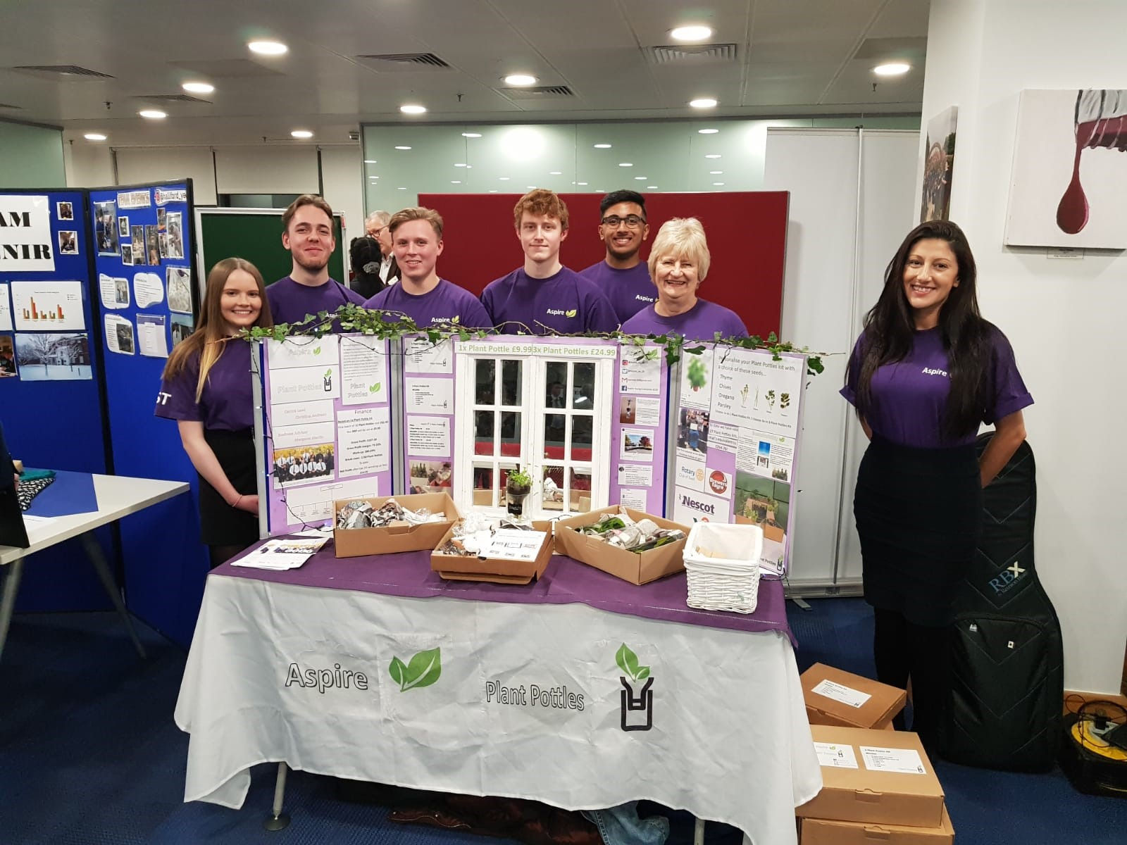 Business students triumph at Young Enterprise regional contest