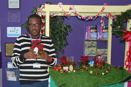 Foundation Learning students hold pop-up Christmas shop