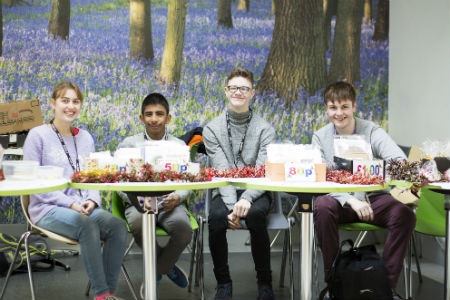 Computing students aiming to hit highest-ever total with Christmas fundraising