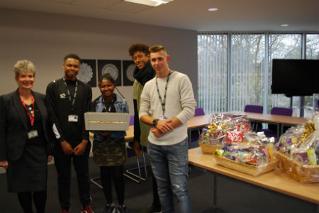 Computing students raise £700 for charity in three weeks