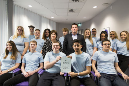 Nescot Business students take part in Dragons' Den-style contest