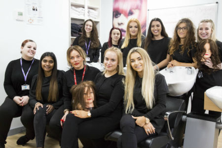 ​Nescot Hair and Beauty team launch new Christmas appeal