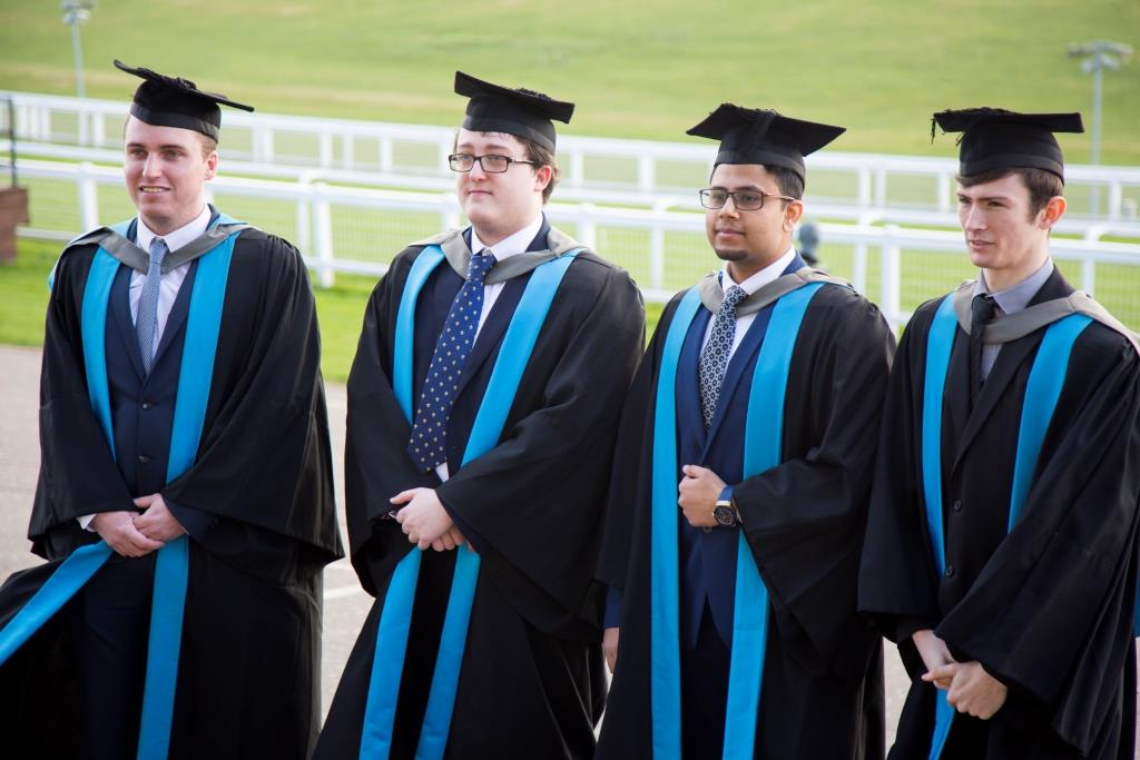 HE students' success celebrated at graduation
