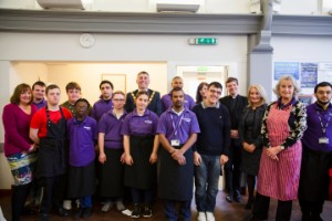 St Mary's Church cafe team celebrate 10 years of success