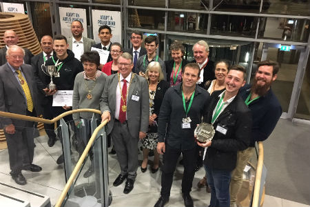 Nescot students honoured at apprenticeship awards