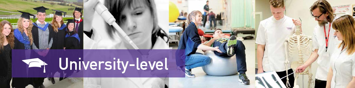 University-level qualifications at Nescot